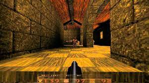 Quake gameplay.