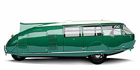 Dymaxion Car replica.