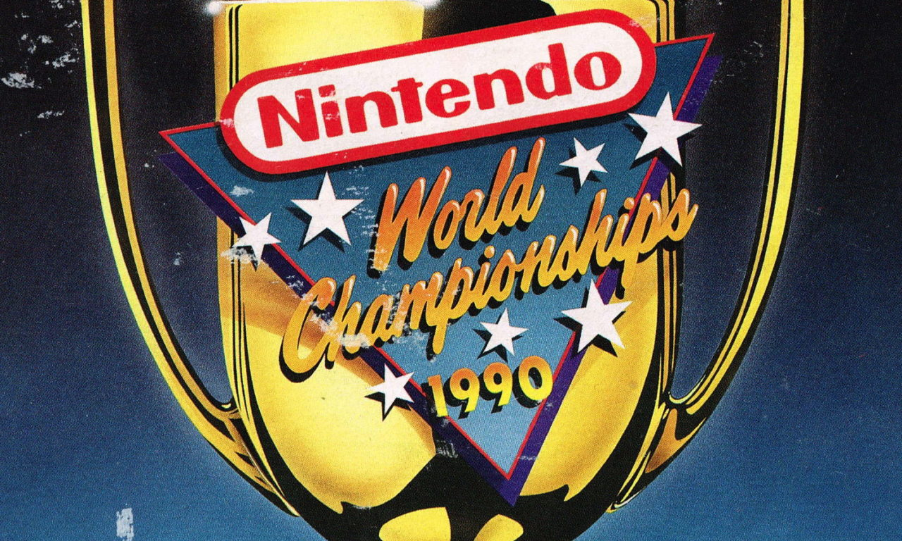 Marketing material for the 1990 Nintendo World Championships.