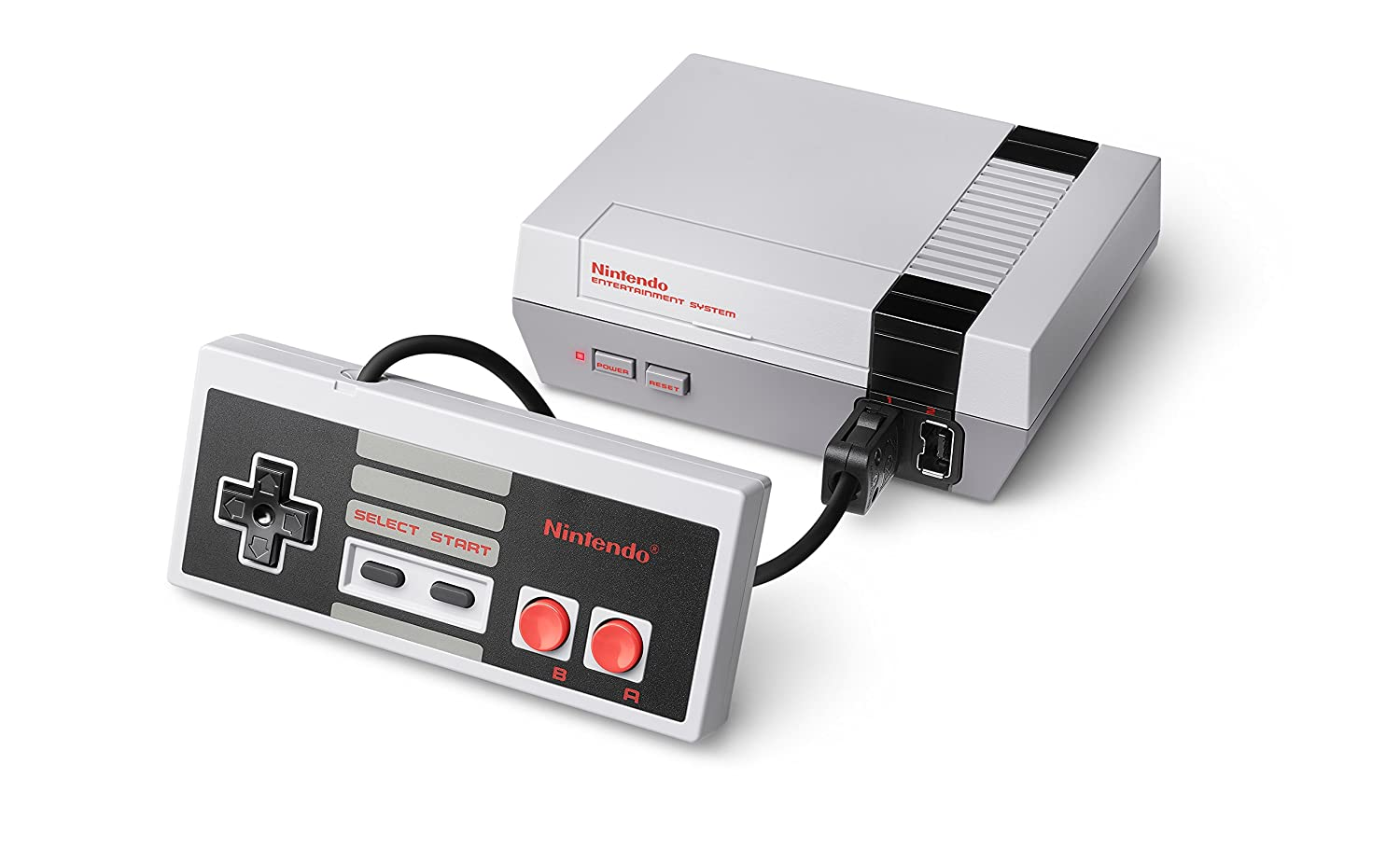 Arguably the system that revived home console gaming, the Nintendo Entertainment System.