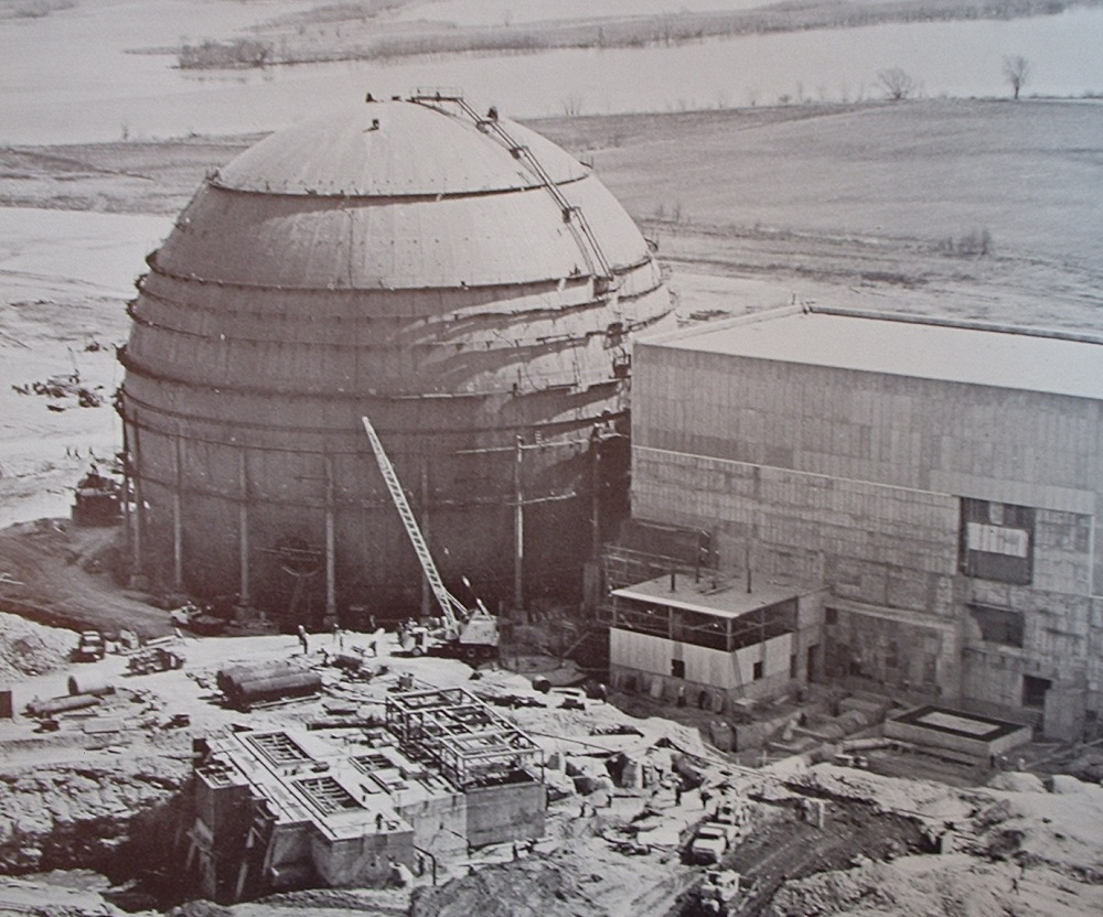 The Dresden-I nuclear power plant.