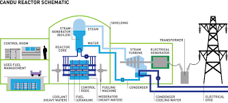 CANDU reactor schematic.
