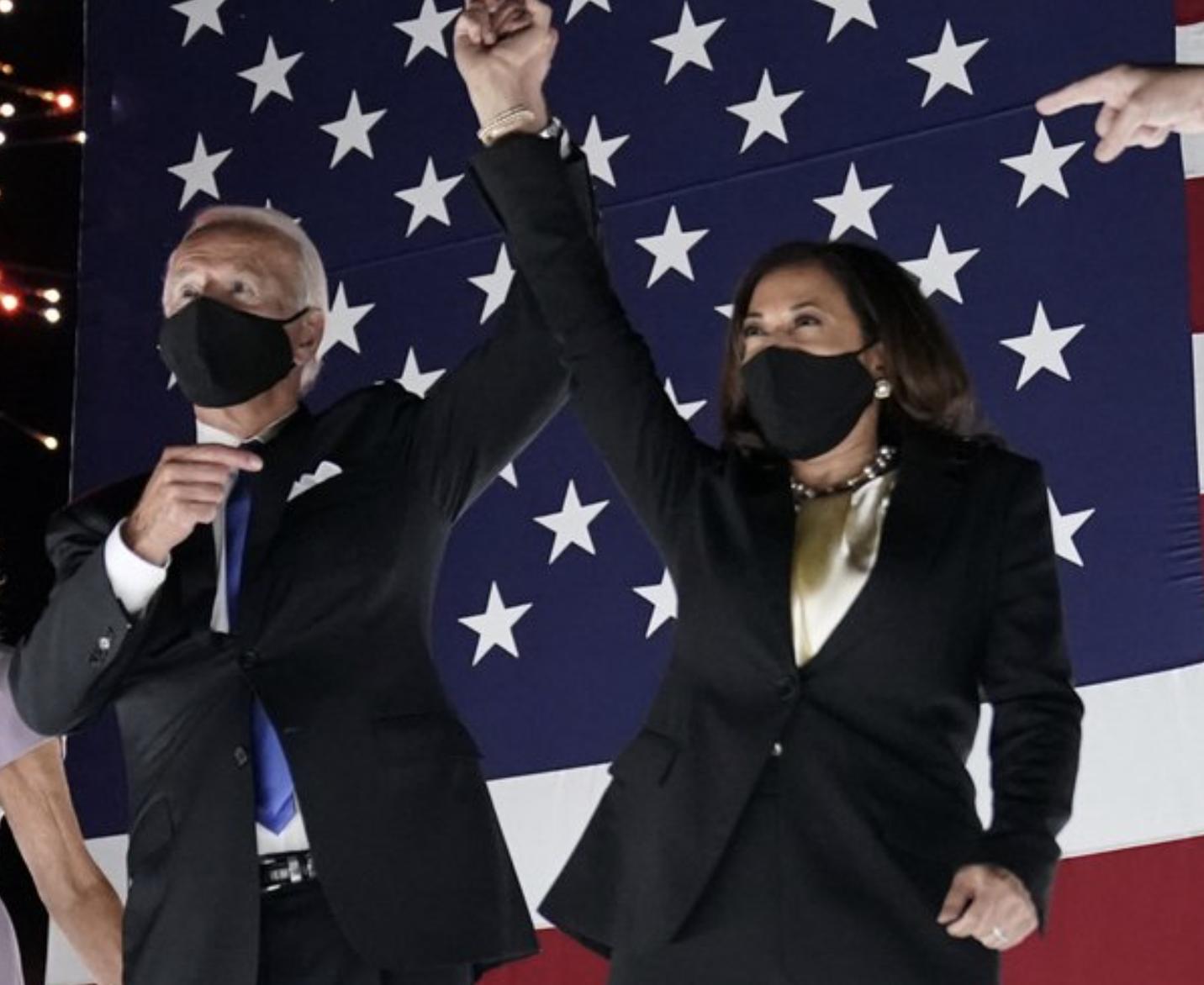 Biden & Harris at the DNC (August 18, 2020)