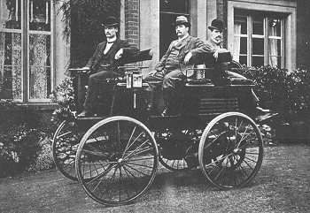 Worlds first electric vehicle