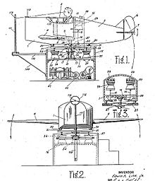 Link trainer patent drawing.