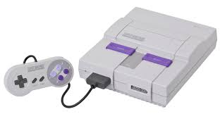 The refreshed, 16-bit Super Nintendo Entertainment System.