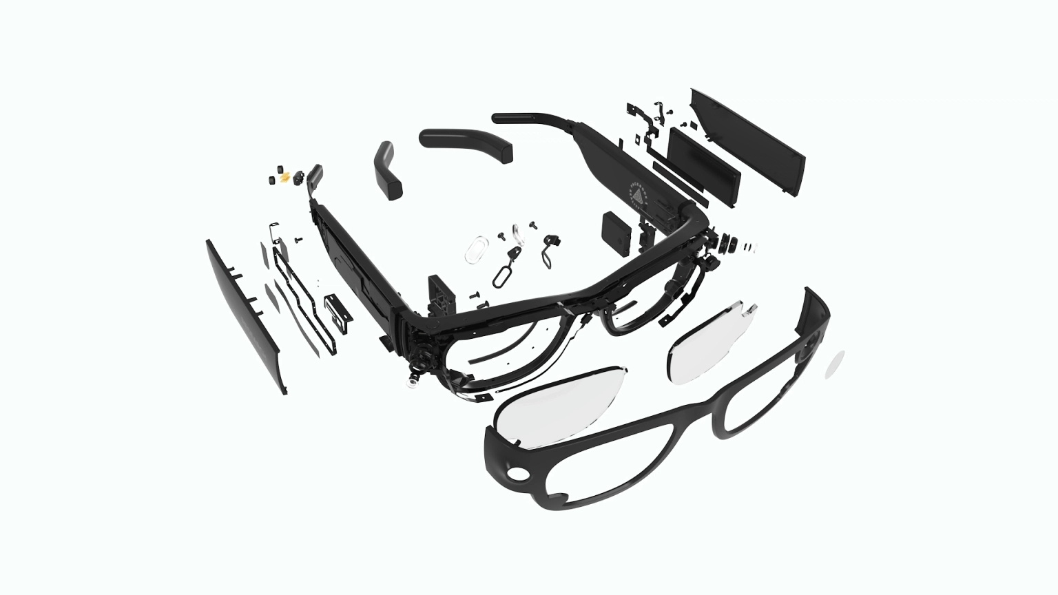 Image of the Project Aria research glasses.