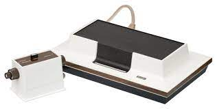Considered the first home console, the Magnavox Odyssey.