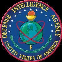 Defense Intelligence Agency badge.
