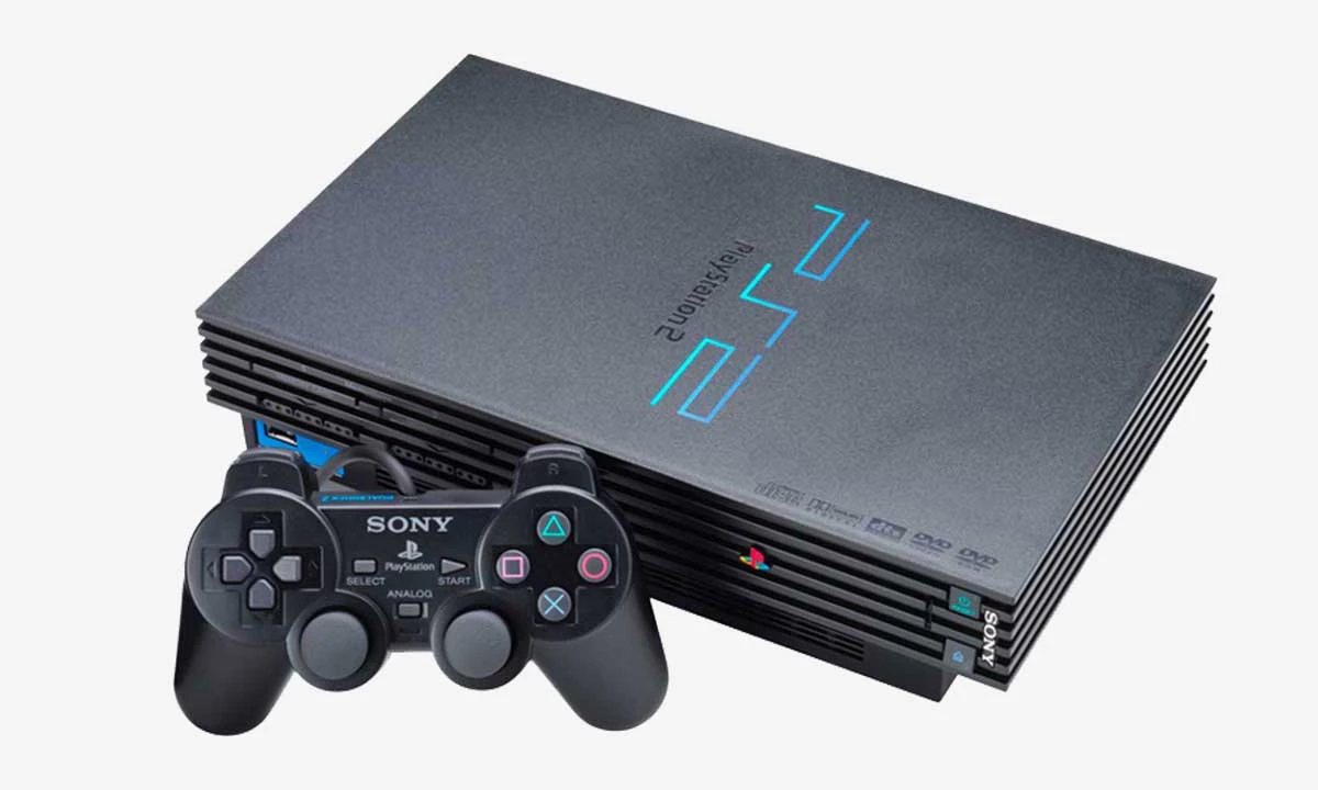 The best-selling Sony PlayStation 2.