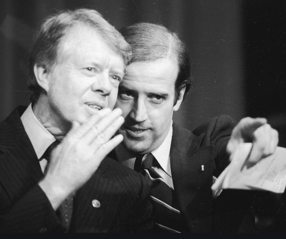 Biden and President Carter (1978)