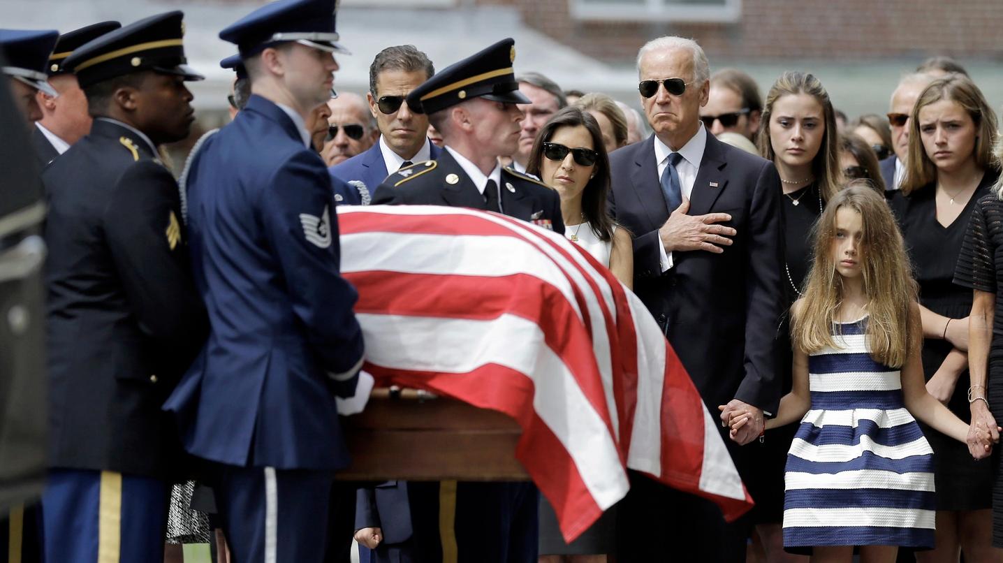 Beau Biden's funeral (June 6, 2015) in Wilmington, Delaware