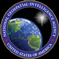 National Geospatial-Intelligence Agency badge.