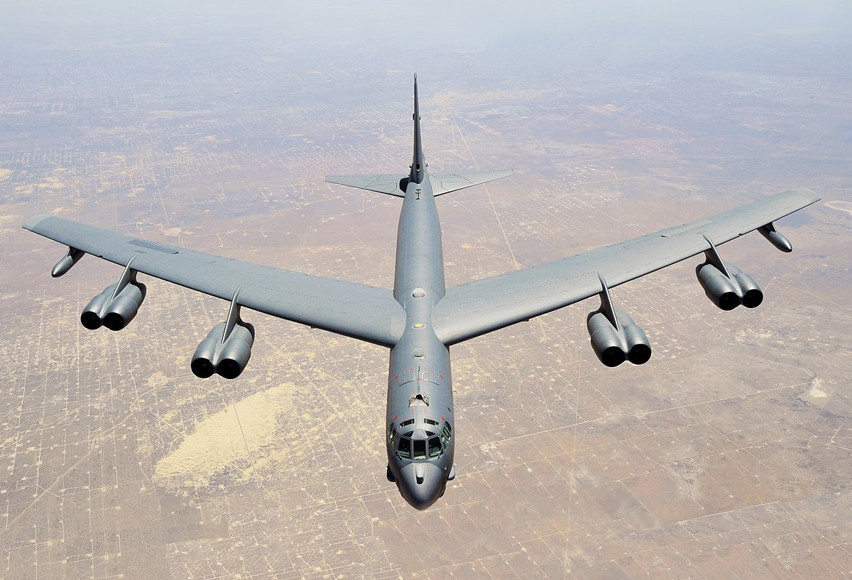 Image of the Boeing B-52 Stratofortress.