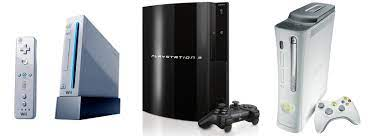 The seventh generation consoles.