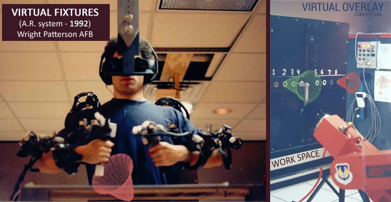 Early augmented reality system developed for the US Air Force