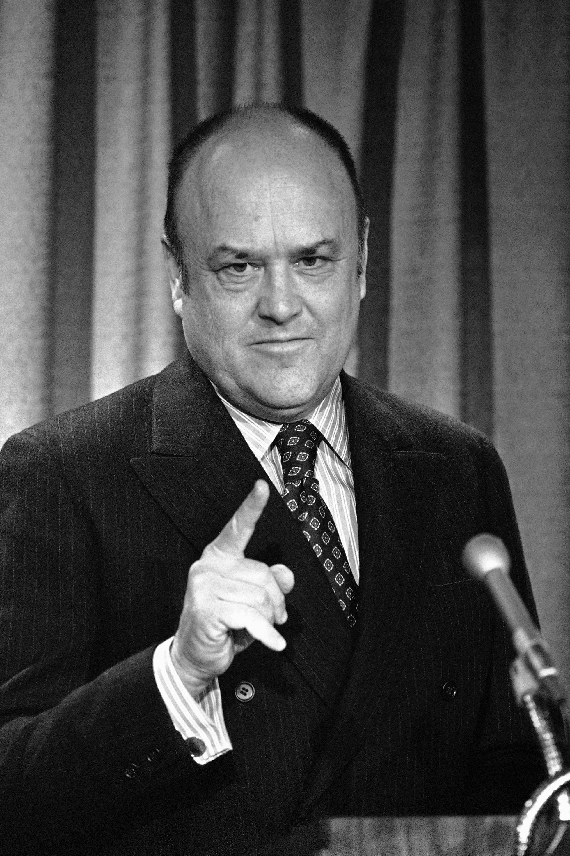 Melvin Laird, secretary of defense under President Richard Nixon.