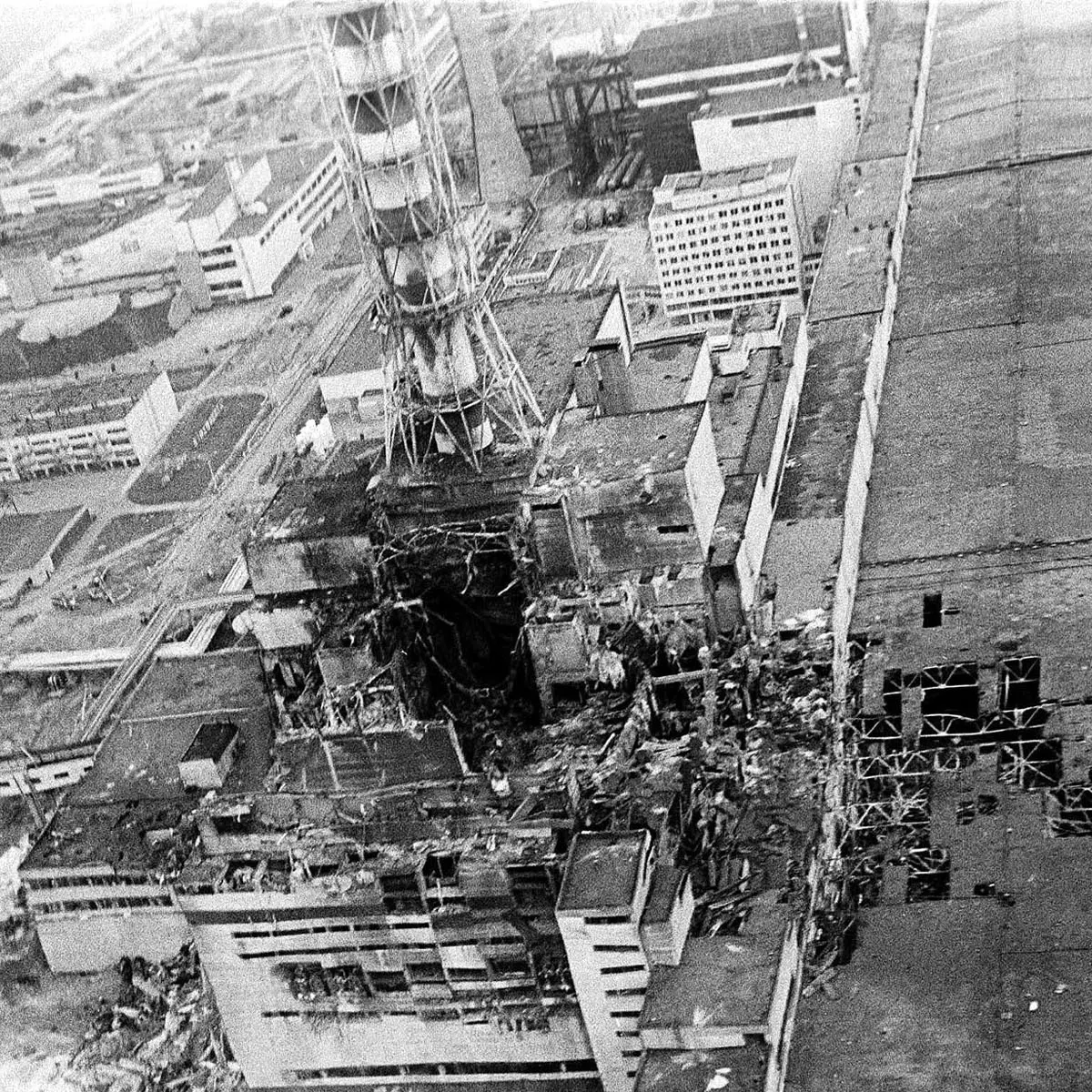 Image from the Chernobyl disaster.