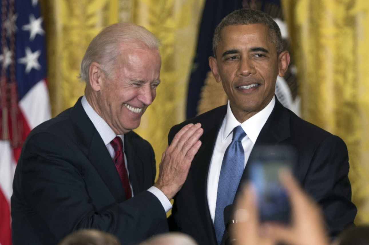 Biden and Obama speak in the East Room of the White House        (June 24, 2015)