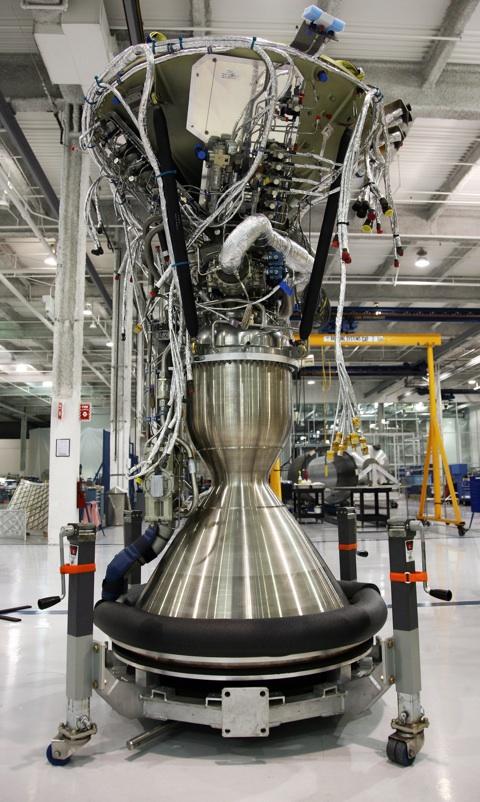 Merlin 1C Vacuum rocket engine.
