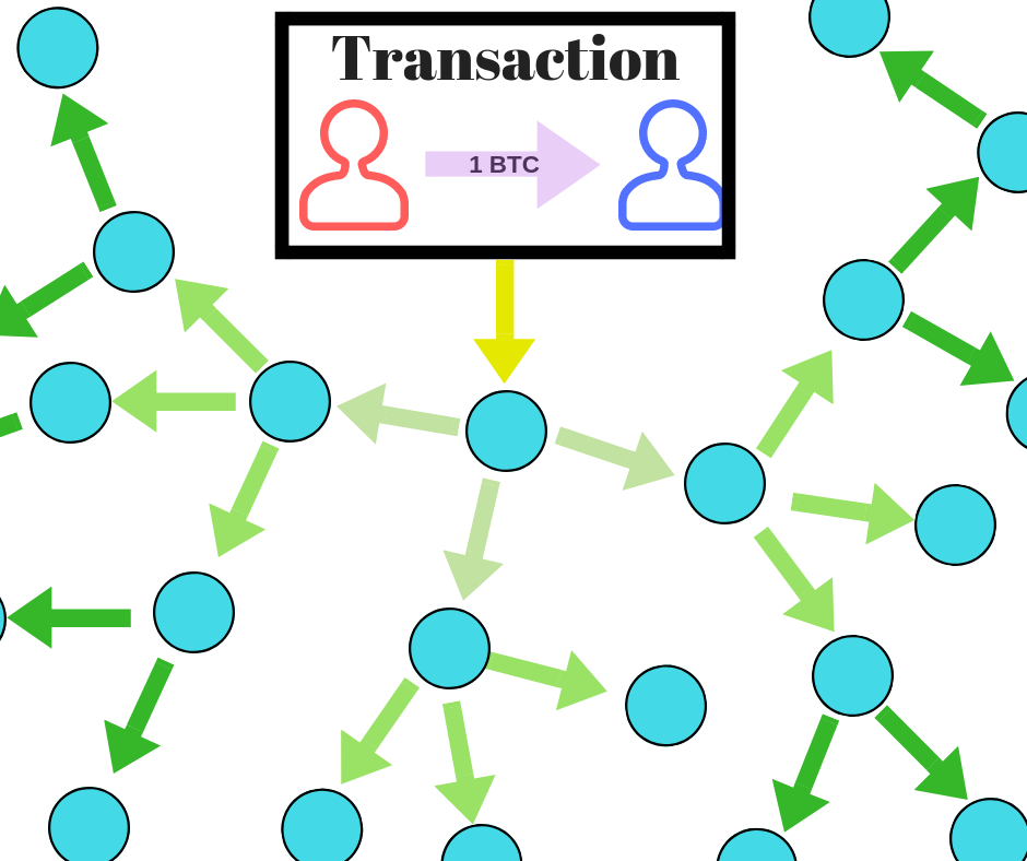 Process of transaction propagation