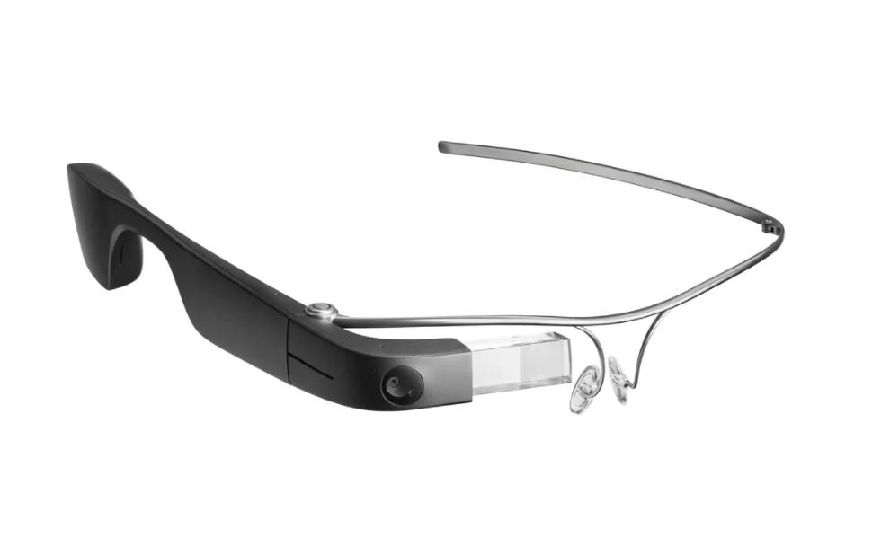 Google Glass wearable provided by Augmedix