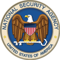 National Security Agency badge.